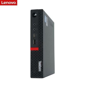 图片 THINKCENTRE M720Q(I3-8100/4GB/128GB SSD/集成显卡/WIN10HB/19英寸)台式机