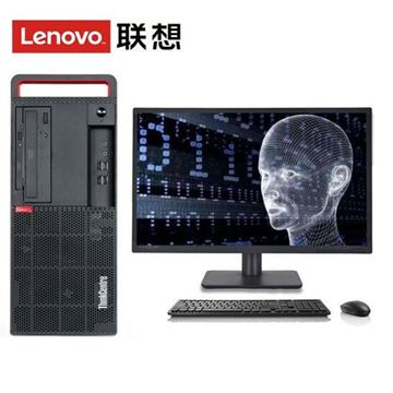 图片 THINKCENTRE M910T(I7-6700/8GB/1TB/集成显卡/WIN10HB/19英寸)台式机